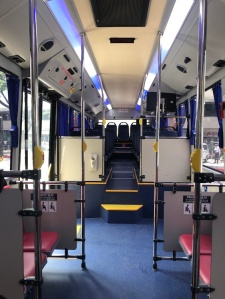 Araneta Center, Araneta Center P2P Bus, NAIA P2P Bus, UBE Bus,